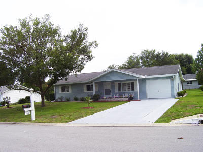 Summerfield FL Single Family Home Pending-Continue to Show: $122,000