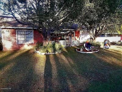 Ocala Single Family Home For Sale: 9329 Bahia Road