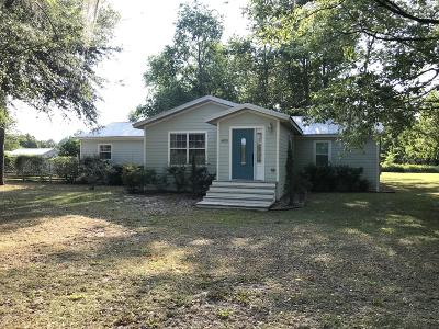 Williston FL Single Family Home Pending: $137,000