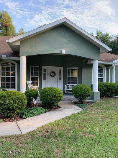 Ocala Single Family Home For Sale: 13420 SW 51 Lane