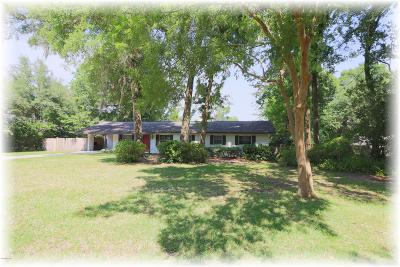 Ocala Single Family Home For Sale: 1231 NE 19 Avenue