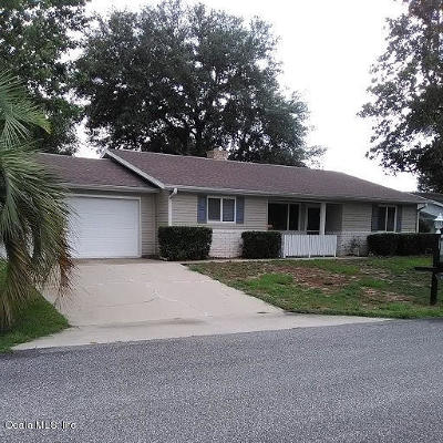 Ocala Single Family Home For Sale: 10966 SW 85th Terrace
