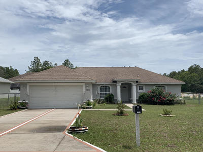 Single Family Home For Sale: 6976 SW 130th Lane Road