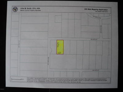 Lake Tropicana Ranchettes Residential Lots & Land For Sale: SW 39th St. #002