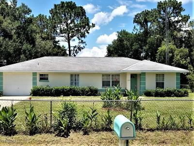 Summerfield Single Family Home For Sale: 9015 SE 154th Lane
