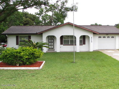 Belleview Single Family Home For Sale: 5315 SE 115th Place