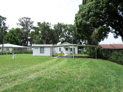 Dunnellon Single Family Home For Sale: 7629 W Riverbend Road