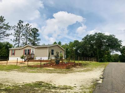 Williston FL Single Family Home For Sale: $130,000
