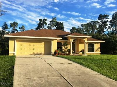 Ocala Single Family Home For Sale: 2646 SW 178 Street