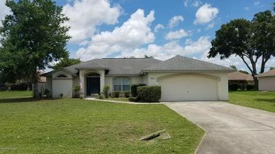 Ocala Single Family Home For Sale: 5831 SW 87th Street Street