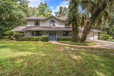 Ocala Single Family Home For Sale: 6400 SW 18th Terrace Road