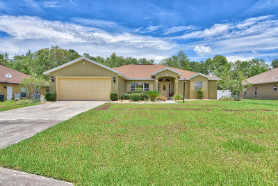 Ocala Single Family Home For Sale: 5273 SW 116th Place