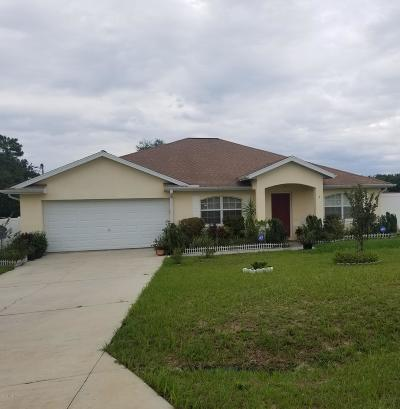 Ocala Single Family Home For Sale: 3 Pine Pass Terrace