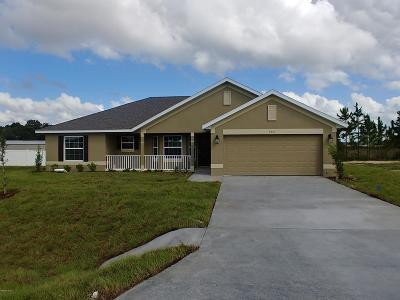 Ocala Single Family Home For Sale: 9601 SW 51st Circle
