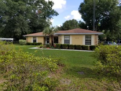 Ocala Single Family Home For Sale: 5609 SW 107 Street