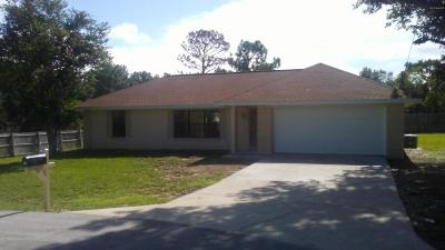 Ocala Single Family Home For Sale: 12 Cedar Pass