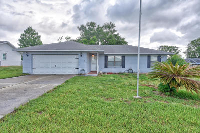 Belleview Single Family Home For Sale: 4369 SE 107th Lane