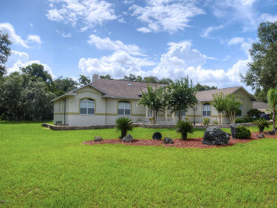 Citrus County Single Family Home For Sale: 9061 E Sweetwater Drive