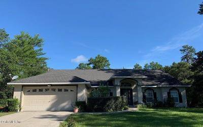 Ocala Single Family Home For Sale: 2717 SW 172nd Road