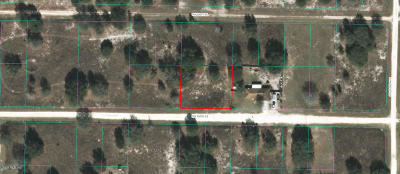 Citrus County, Levy County, Marion County Residential Lots & Land For Sale: SW 106th Street