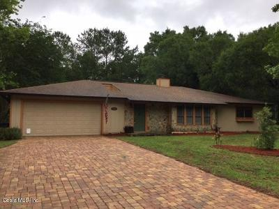 Ocala Single Family Home For Sale: 5143 SE 17th Street