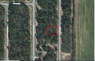 Citrus County, Levy County, Marion County Residential Lots & Land For Sale: Lot 6 SW 60th Terrace