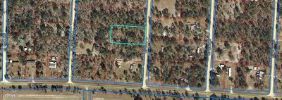 Citrus County, Levy County, Marion County Residential Lots & Land For Sale: SE 132nd Court