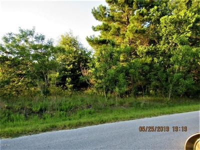 Ocala Residential Lots & Land For Sale: 00-9 Pine Course Place