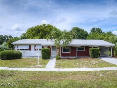 Ocala Single Family Home For Sale: 3731 SW 143rd Lane Road