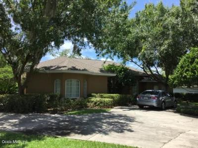 Ocala Single Family Home For Sale: 3291 SW 9th Avenue