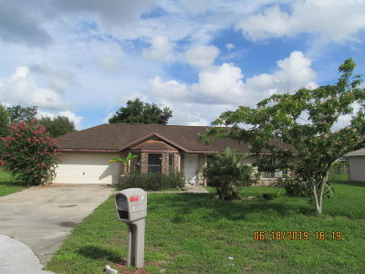 Ocala Single Family Home For Sale: 19 Cedar Trace Terrace Terrace
