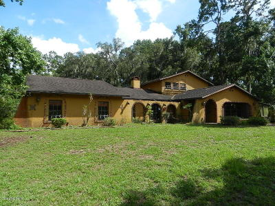 Dunnellon Single Family Home For Sale: 21346 Palatka Drive