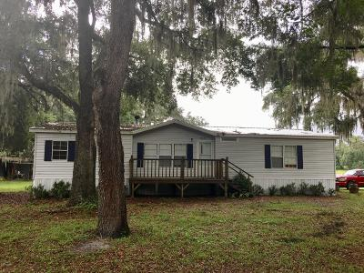 Dunnellon Mobile/Manufactured For Sale: 19633 NW 13th Street