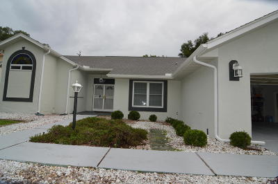 Dunnellon Single Family Home For Sale: 19875 SW 93rd Lane