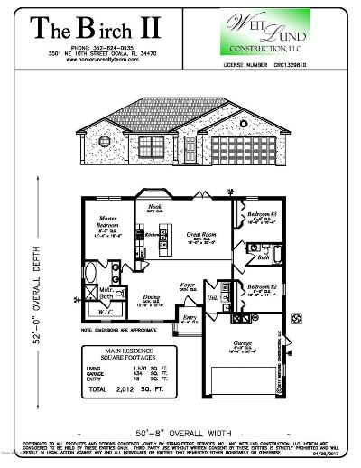 Belleview Single Family Home For Sale: 4411 SE 108th Lane