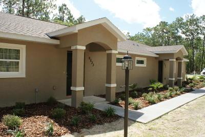 Citrus Springs Rental For Rent: 9531 N Travis Drive #B