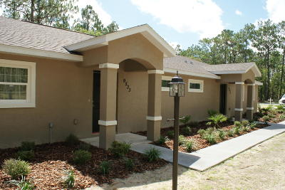 Citrus County Rental For Rent: 9533 N Travis Drive #A