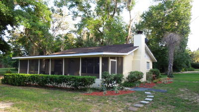 Salt Springs Single Family Home For Sale: 13625 NE 213 Avenue