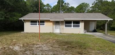 Dunnellon Single Family Home For Sale: 3822 SW Admiral Landing Drive