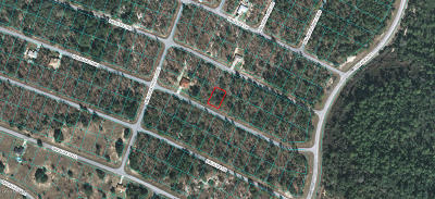 Ocala FL Residential Lots & Land For Sale: $4,500