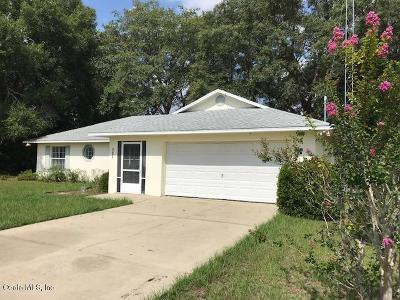 Ocala FL Single Family Home For Sale: $127,500