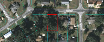 Belleview Residential Lots & Land For Sale: SE 119th Place