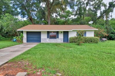 Ocala Single Family Home For Sale: 2049 NE 59th Street