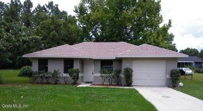 Ocala FL Single Family Home For Sale: $99,900