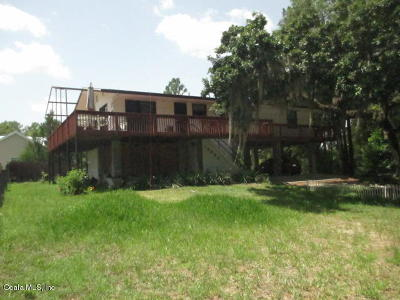 Dunnellon Single Family Home For Sale: 18822 SW 108th Street