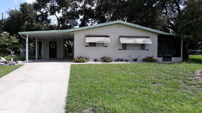 Single Family Home For Sale: 9160 SW 104th Lane