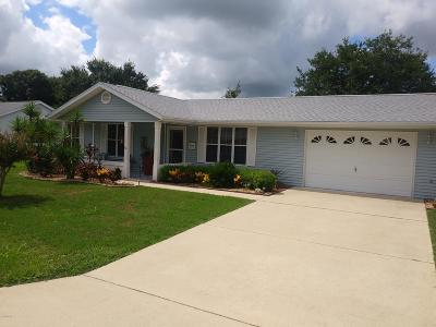 Ocala FL Single Family Home For Sale: $128,000