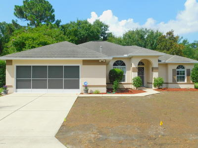 Marion County Single Family Home For Sale: 11552 SW 74th. Court