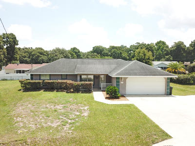 Ocala FL Single Family Home For Sale: $180,000