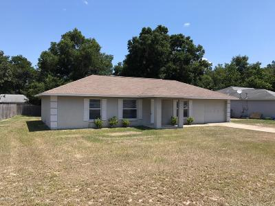 Ocala Single Family Home For Sale: 153 Juniper Way